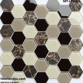 Gạch Mosaic lục giác MT-LT0060