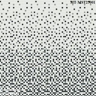Gạch Mosaic Thủy Tinh dải màu MT-MST25001