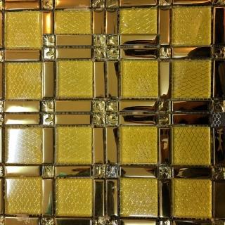 Gạch Mosaic Điểm Vàng X - 1160
