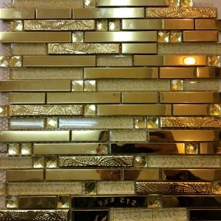 Gạch Mosaic Rồng Vàng DR 3270