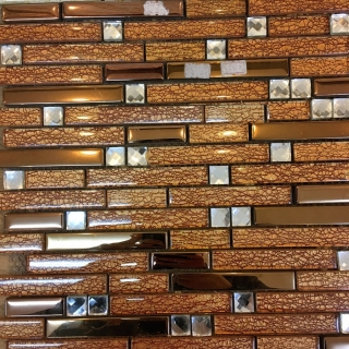 Gạch Mosaic điểm vát MCK 07712