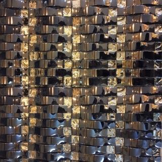 Gạch Mosaic Kính Lồi Xanh MS 9161