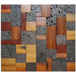 Gạch Mosaic gỗ 300x300mm AXCM023
