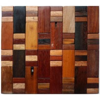 Gạch Mosaic gỗ 300x300mm RACMW003
