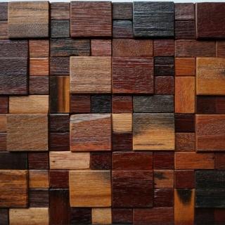 Gạch Mosaic gỗ 300x300mm RACMW006
