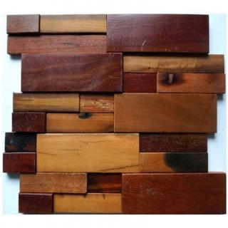 Gạch Mosaic gỗ 300x300mm RACMW011