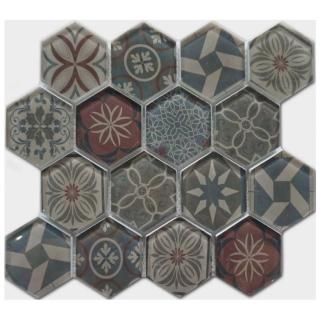 Gạch Mosaic thủy tinh 300x300mm RCS138