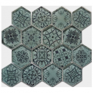 Gạch Mosaic thủy tinh 300x300mm RCS140