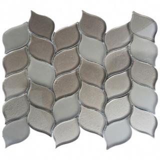 Gạch Mosaic thủy tinh 300x300mm RCS128
