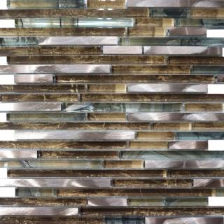 Gạch Mosaic thủy tinh 300x300mm RC070